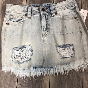 (Miss Me) jean skirt NWT